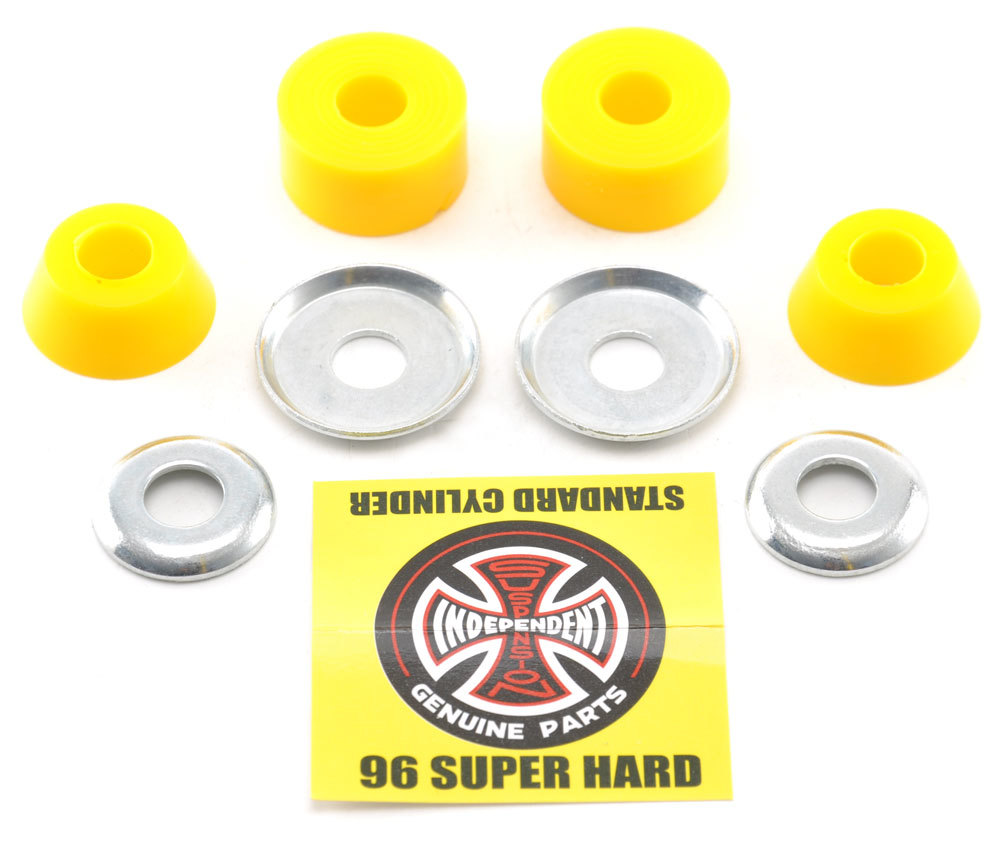 Бушинги Independent Standard Cylinder Cushions Super Hard (96a) Yellow
