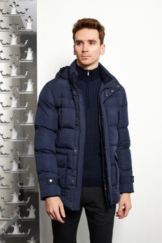 CUDGI Куртка утепленная с капюшоном