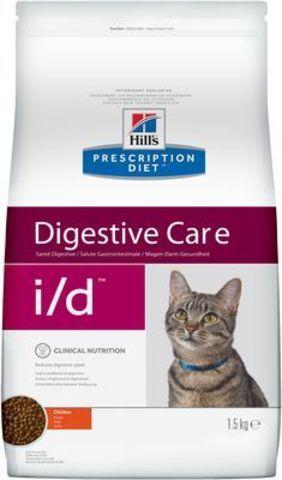 9188 ХИЛЛc ДИЕТА сух.д/кошек I/D лечение заболеваний ЖКТ 1,5кг*6