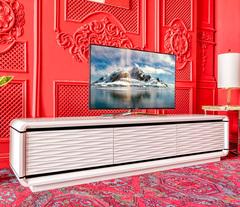 Тумба под телевизор 3D Modo (Белый глянец)