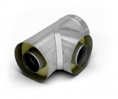 Тройник 90-сэндвич TMF ф120/220, 0,5мм, н/н