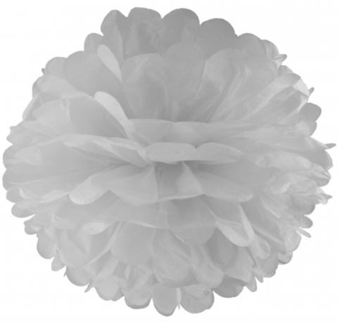 Помпоны бумажные, 25-30 см