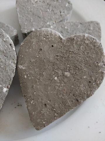 Сердце с глинами Чародейкой и уральской