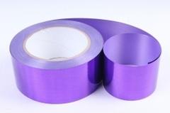 Лента металлизированная Фиолетовая  5см*50ярд