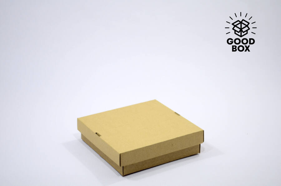 Низкая картонная коробка купить в Алматы