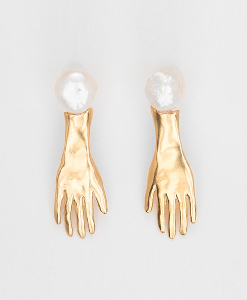 серьги-руки