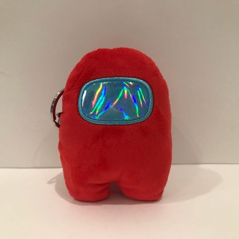 Брелок амонгаст красный