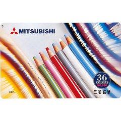 Цветные карандаши Mitsubishi №880 (36 шт.)