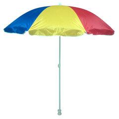 Зонт пляжный складной h=185см, d=180см НТО8-0047