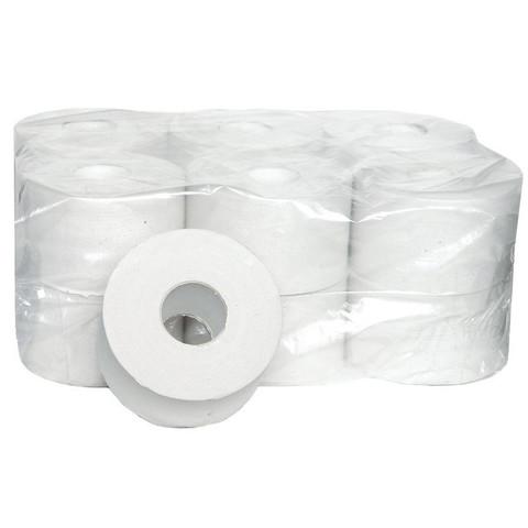 Бумага туалетная в рулонах Style 1-слойная 12 рулонов по 200 метров