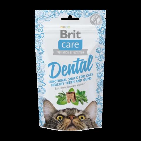 Brit Care Dental Лакомство для кошек для очистки зубов