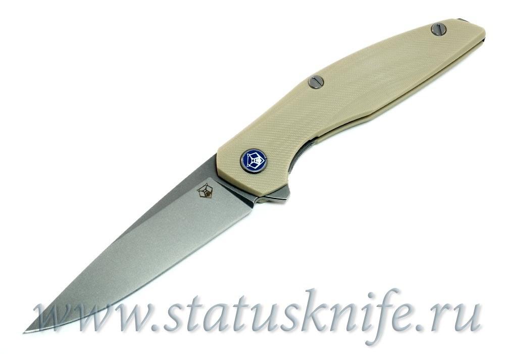 Нож Широгоров 111 Vanax37 G10 tan 3D MRBS - фотография