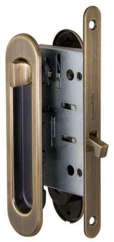 Ручка с заверткой для раздвижных дверей SH011-BK WAB-11