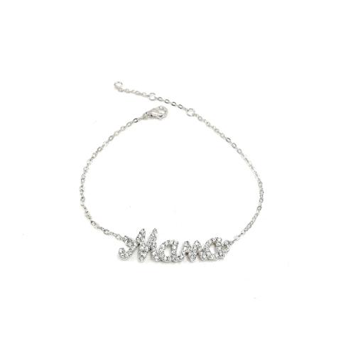 16081- Браслет из серебра с подвеской