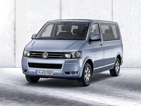 Чехлы на Volkswagen T5 микроавтобус Multivan / Caravelle / Transporter 2009–2015 г.в.