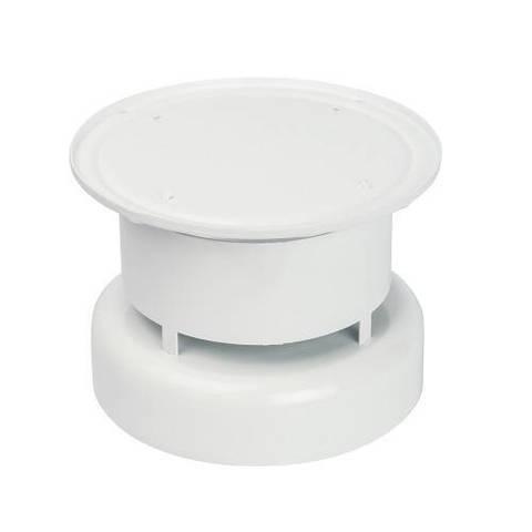Оголовок вертикальный для коаксиального дымохода STOUT D60/100 мм