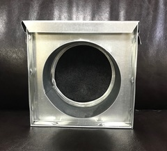 Кассетный угольный фильтр d 150мм