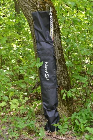 Чехол для беговых лыж Nordski 210 см 1 пара Black