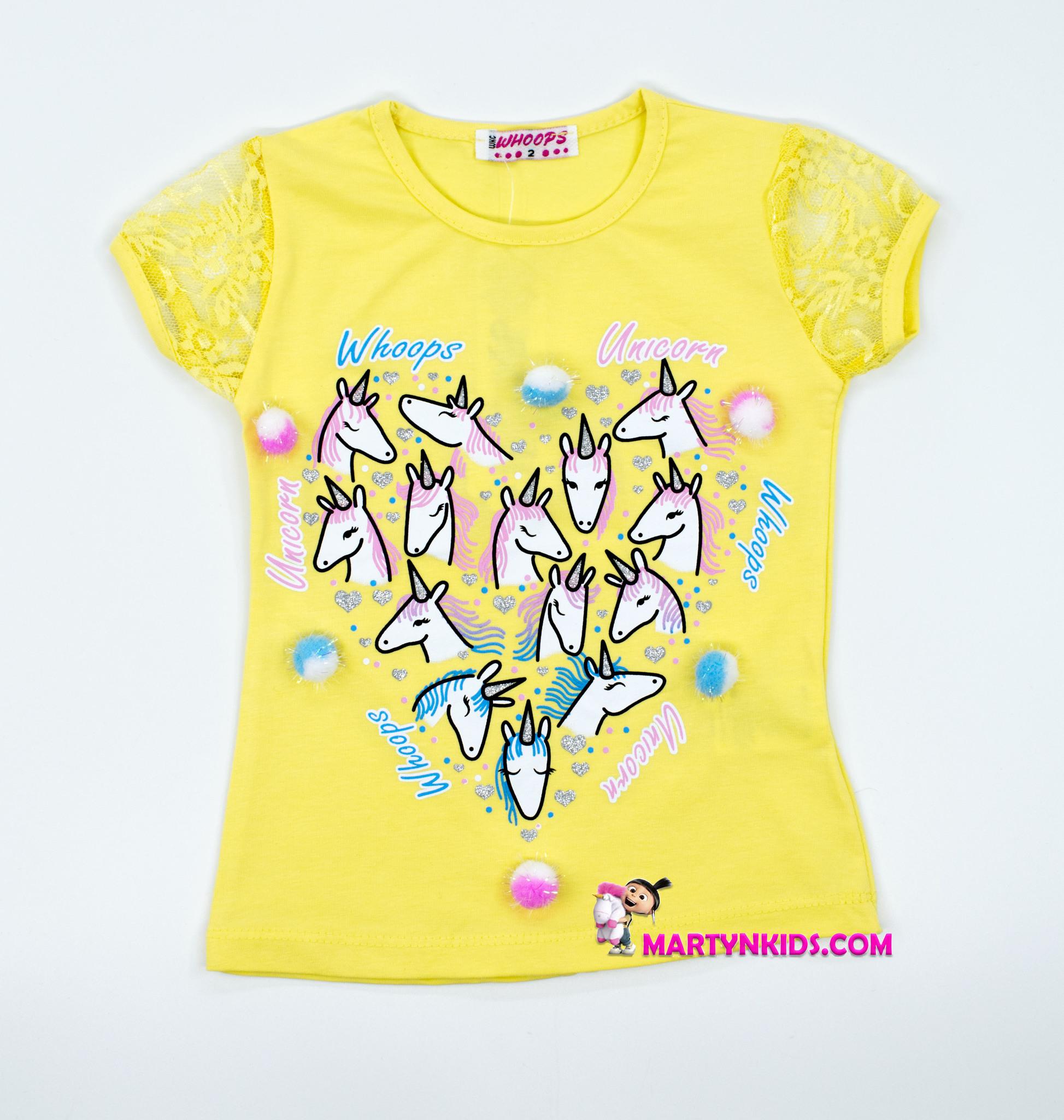 2594  футболка Много лошадок
