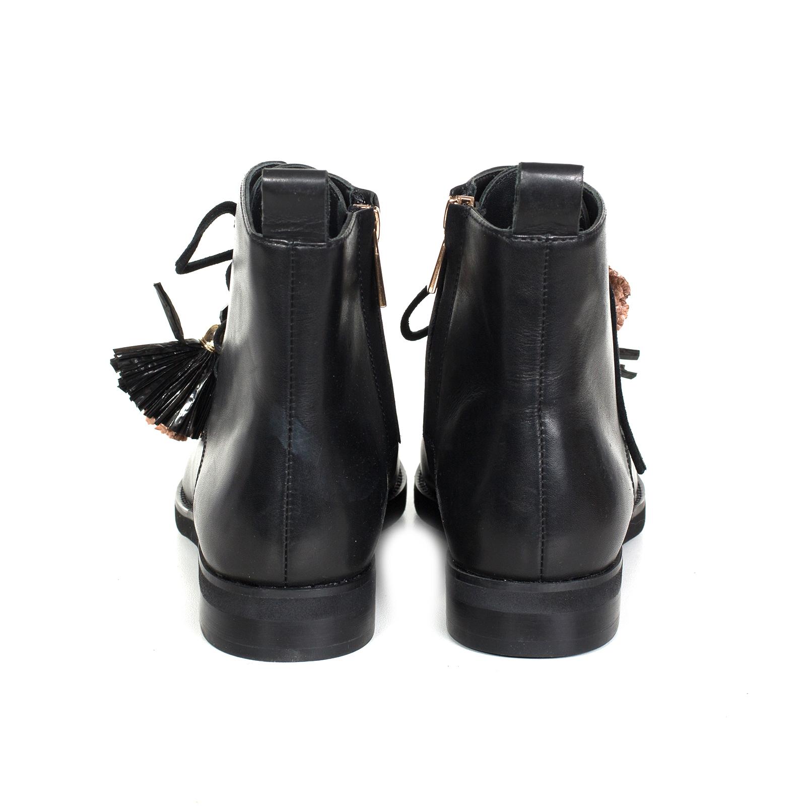 Ботинки, Ballerina, Djorjia (черный)