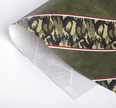 Бумага упаковочная глянцевая с дизайном. 50*70 см., 1 лист.