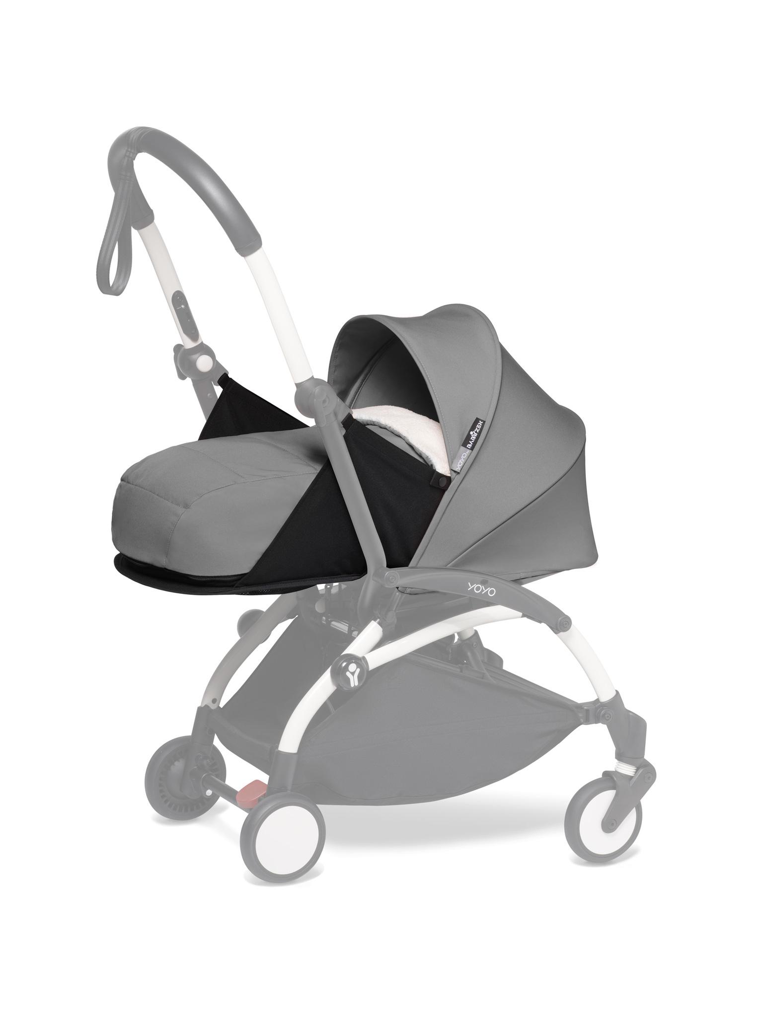 Комплект люльки для новорождённого BabyZen YOYO2 0+ Grey Серый