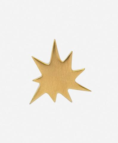 Моно-серьга Kapow Gold