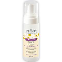 Пенка для интимной гигиены для очень чувствительной кожи Delicate, 175 мл. Intimate