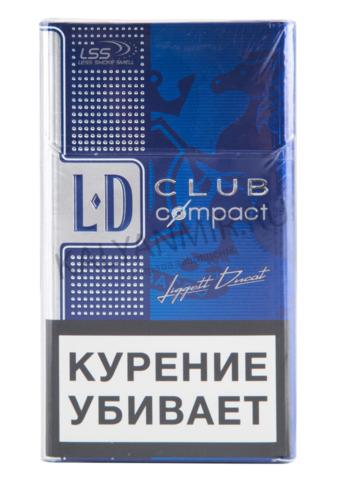 ЛД КОМПАКТ Blue Autograph Табак