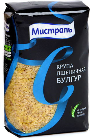 Крупа пшеничная Булгур Мистраль МИНИМАРКЕТ 0,5кг