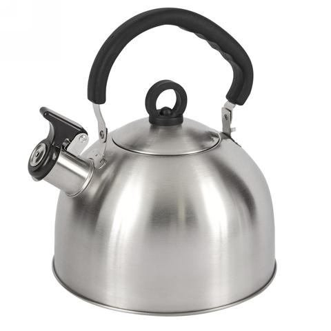 Чайник со свистком LUMME LU-268 черный гранит
