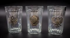 Подарочный набор граненных стаканов «Неподвластный времени», фото 3