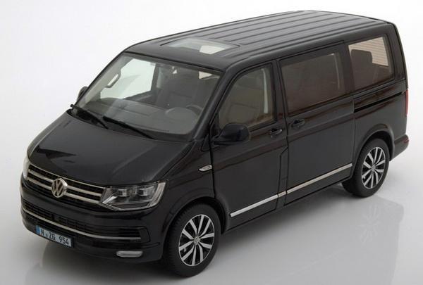 Коллекционная модель Volkswagen Multivan T6 Highline 2016 Black Metallic
