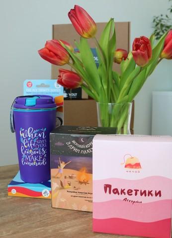 Набор с термокружкой и кофе в пакетиках и дрип-пакетах