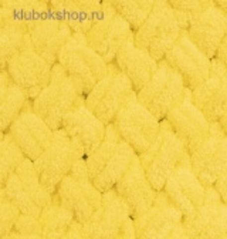 Пряжа Puffy (Alize) 216 Желтый - изображение