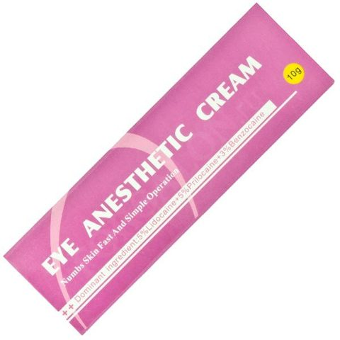 Анестетик для зоны век Eye Anesthetic Cream (Ай Анестетик Крем) 10 мл.
