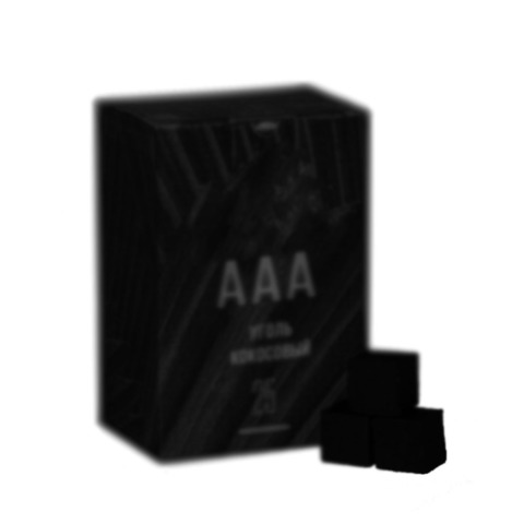 Уголь AAA кубики 1 кг 25 мм