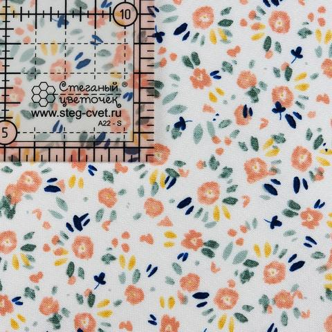 Ткань для пэчворка, хлопок 100% (арт. X0830)