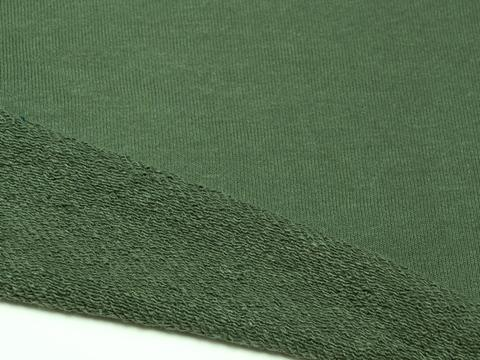 Футер 3-х ниточный, петля, Зеленый лесной