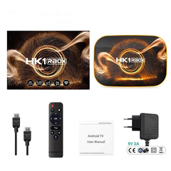 Смарт ТВ приставка HK1 RBOX 4/32Гб Андроид 10.0