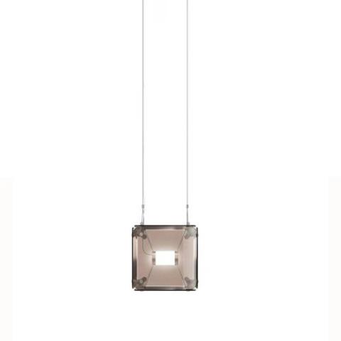 Подвесной светильник копия Hyperqube by Felix Monza (1 плафон, янтарный)
