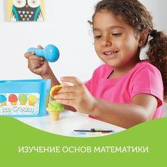 Развивающая игрушка Собери мороженое, с карточками Learning Resources