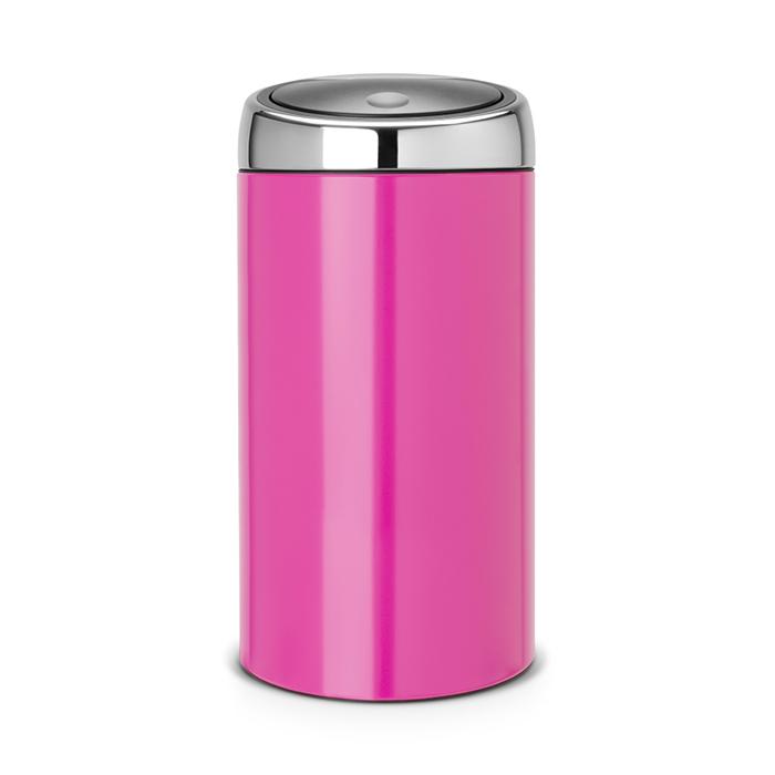 Мусорный бак Brabantia Touch Bin (45л), Розовый, арт. 481963 - фото 1