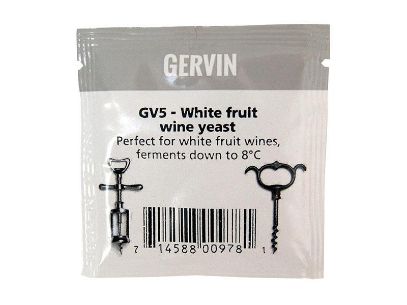Дрожжи винные Дрожжи Винные Gervin GV5, 5г Дрожжи_Винные_Gervin_GV5__5г.jpg