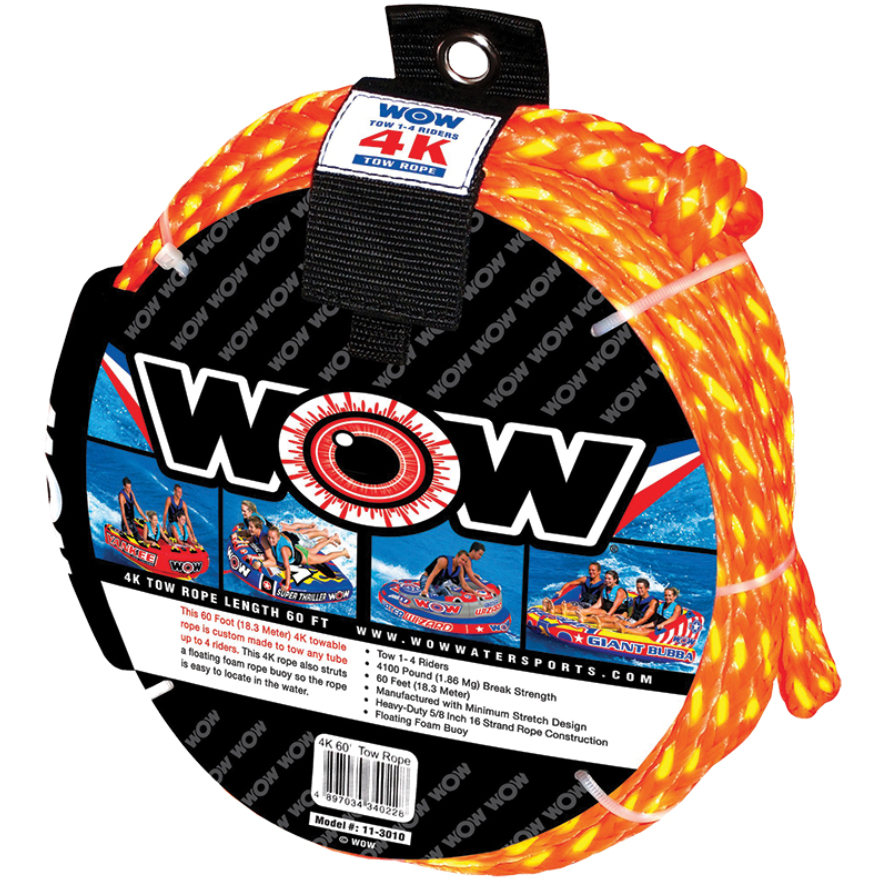 Tow rope, up to 4 person