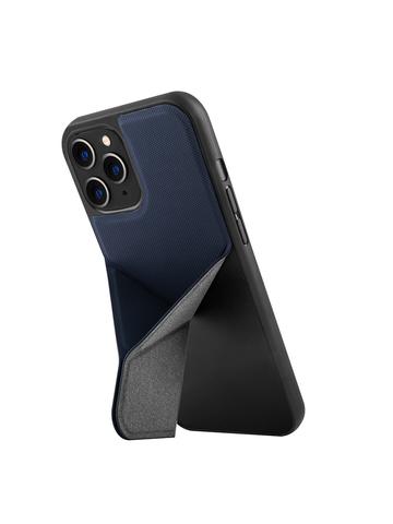 Чехол Uniq Transforma для iPhone 12/12 Pro | с раскладной магнитной подставкой синий