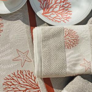 Beach towel Ibiza, beige