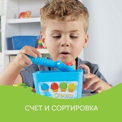 Развивающая игрушка Собери мороженое, с карточками Learning Resources, арт. LER6315