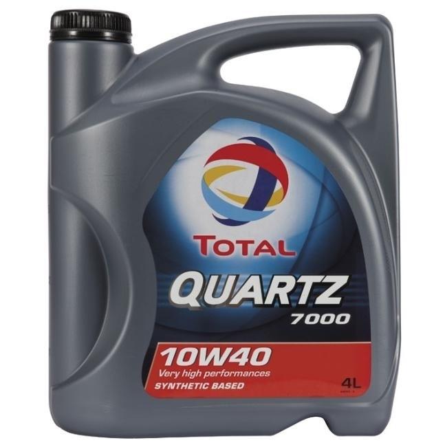 Total 7000 Quartz 10W40 Полусинтетическое моторное масло