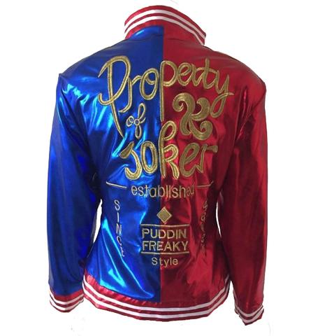Отряд Самоубийц куртка Харли Квинн Собственность Джокера